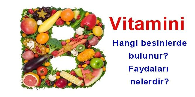 B-1 Vitamininin Etkileri